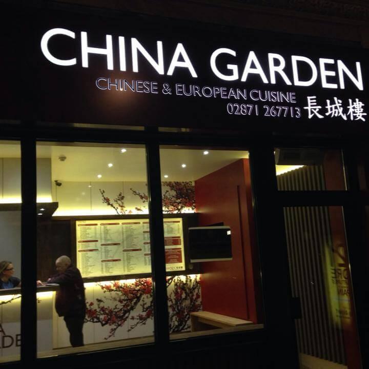 Ghina Garden Derry Menu