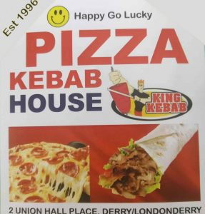 Kebab House Union Place Shipquay St Derry