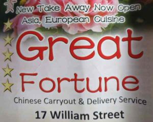 Great Fortune William St Menu, Order, online, Takeaway, take-away, take away, delivery, phone, Number, Prices, Restaurant, Derry,  Londonderry, Opening, hours, times, Facebook, Food, take out, Takeout, Take-out, My Food Delivery,  myfood.delivery,  Just-Eat, just eat, Nifty Nosh , i want fed, iwantfed, Iwantfed.com