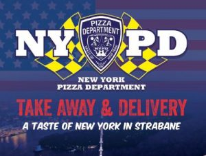 NYPD Strabane - Menu, Order, online, Takeaway, take-away, take away, delivery, phone, Number, Prices, Restaurant, Derry,  Londonderry, Opening, hours, times, Facebook, Food, take out, Takeout, Take-out, My Food Delivery,  myfood.delivery,  Just-Eat, just eat, Nifty Nosh , i want fed, iwantfed, Iwantfed.com